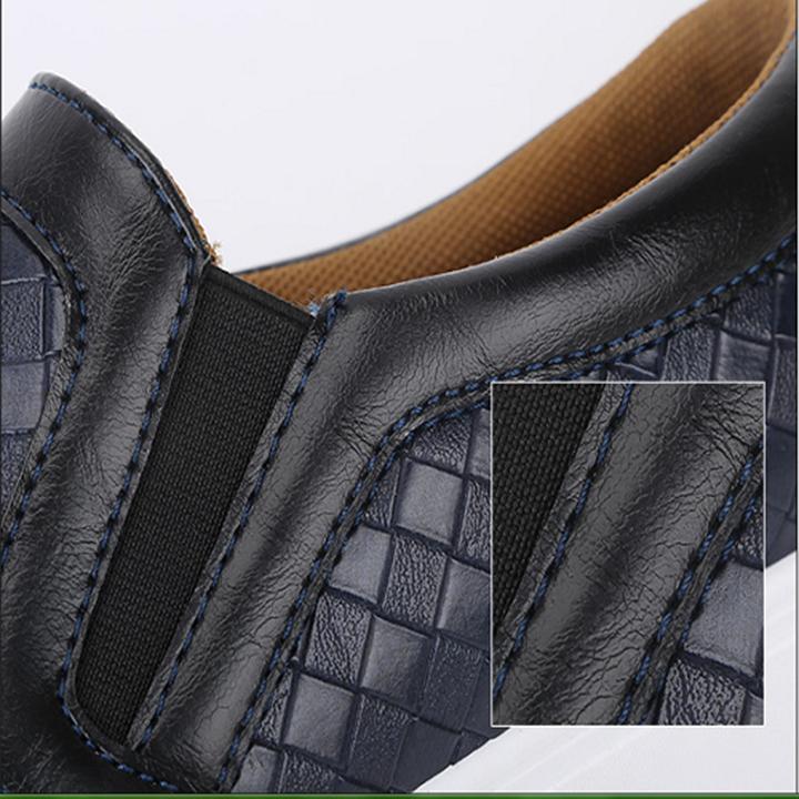 CX 119 - Giày lười Hàn Quốc giả da cá tính mẫu mới 2016 9