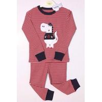 Bộ quần áo cho bé trai họa tiết hà mã - YY17