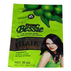 Dầu gội nhuộm tóc đen Pacare Bessie