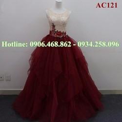 Áo cưới màu sắc AC121
