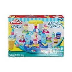 Đất nặn Play-Doh Máy làm kem cầu vồng