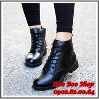 Giày bốt cổ cao G001