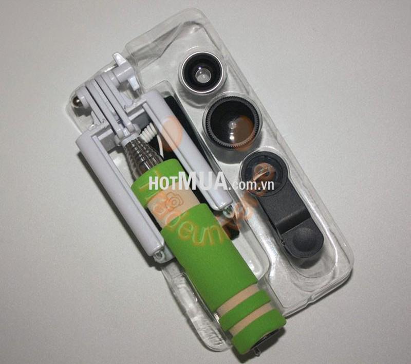 Gậy Chụp Hình Mini và Lens 3 in 1 - Gậy Chụp Điện Thoại Bộ Lens 3 in 1 7