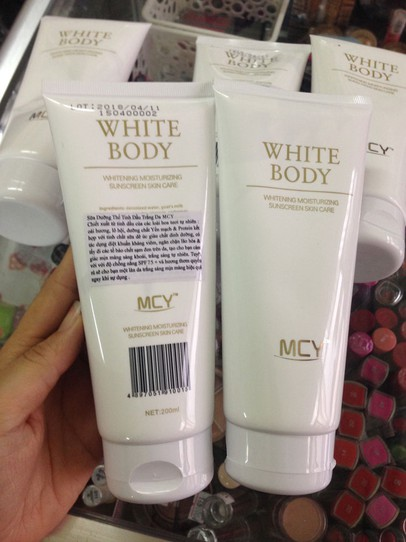 Kem dưỡng trắng White body MCY 2