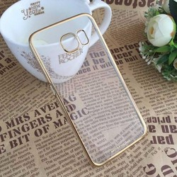 Ốp Samsung Galaxy A8, Viền mạ vàng cực sang trọng, hiệu Meephone