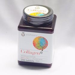 Viên uống bổ sung Collagen advanced type 1,2,3 Youtheory 290 viên