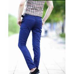 Quần kaki nam màu xanh co ban phong cách sang trọng cá tính