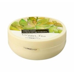 Kem tẩy trang Trà Xanh The Face Shop Herb Day Cleansing Cream 150ml