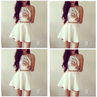 Set váy xòe áo yếm