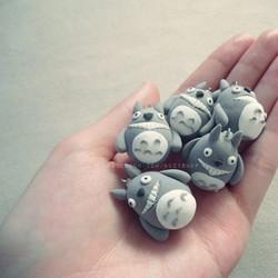 móc ĐT Totoro đất sét