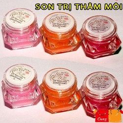 Set 4 Son trị thâm môi có bốn sắc màu cho đôi môi thêm hồng-118