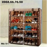 Tủ vải lắp ráp iLife mẫu 5-1   76cm x 30cm x 89cm