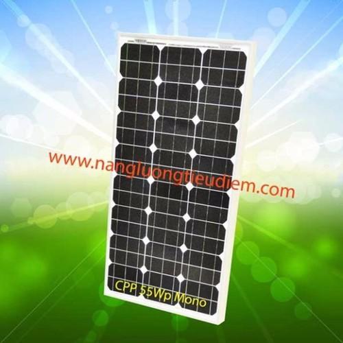 Pin năng lượng mặt trời tidisun mono 55w cpp55w mono solar panel