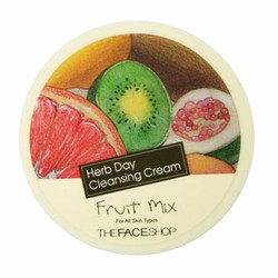 Kem tẩy trang The Faceshop Herb Day Cleansing Cream Fruit Mix 150ml