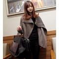 Áo khoác len nữ dây kéo xéo Mã: AO2177