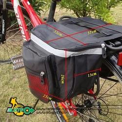 Túi baga xe đạp nhỏ gọn