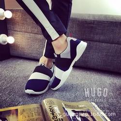 HP262_Giày lười Hàn Quốc phối màu cực HOT
