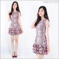 Đầm ôm 3 tầng nhiều màu xinh xắn