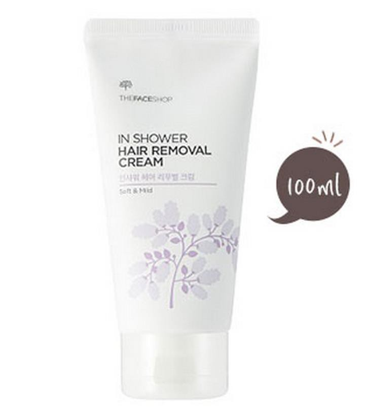 Kem tẩy lông In Shower Hair Removal Cream The Face Shop 4