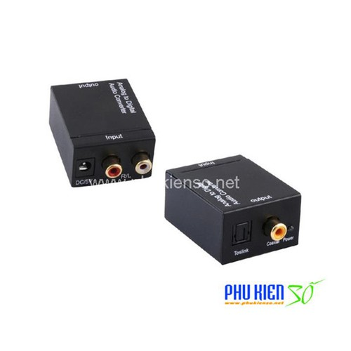 Bộ chuyển optical sang audio av tặng kèm cable optical