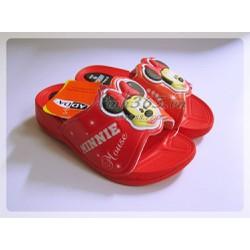 Dép nhựa Mickey cho bé gái - 31K23 - Màu Đỏ