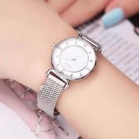 Đồng hồ nữ dây kim loại JU964 màu trắng trang nhã