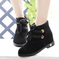 Giày Boot xinh thắt nơ xinh - B047D