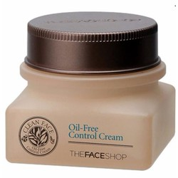 Kem trị mụn TheFaceShop Clean Face Oil Control Cream 50ml