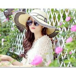 nón mũ rộng vành thời trang hàng nhập  thiết kế mới trang nhã dịu dàng
