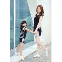 Combo bộ đồ đôi cho mẹ và bé gái MS26