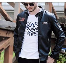 Áo khoác da nam cao cấp mẫu mới 2015 CAKDN 08