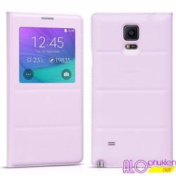 Bao da Samsung Galaxy Note 4 S View Cover hiệu Hoco