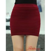 Chân váy len ôm sưa gân Quảng Châu siu đẹp- 5 màu