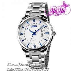 Đồng hồ SKMEI cao cấp dây inox