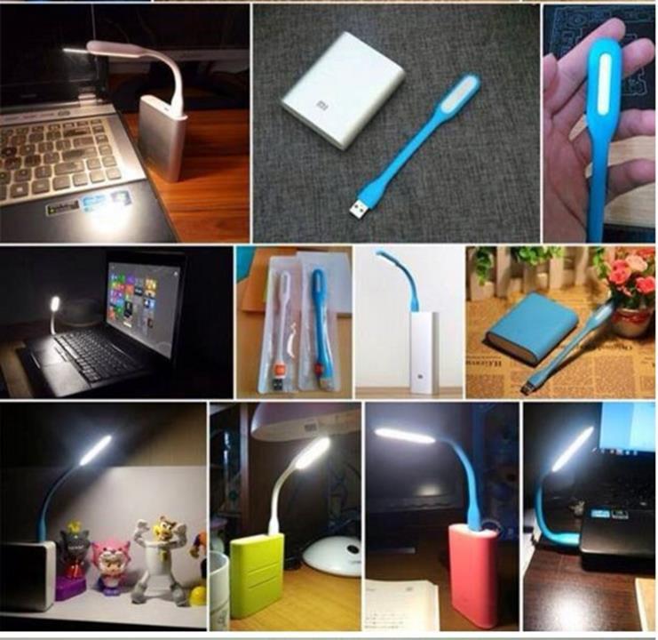 Combo đèn USB và Quạt 2 Cánh Rời Tiện Dụng 9