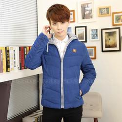Áo phao nhung phong cách Hàn Quốc, Hàng nhập khẩu - Mã số: AK1530