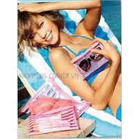 Combo 3 túi đựng mỹ phẩm Victorias Secret
