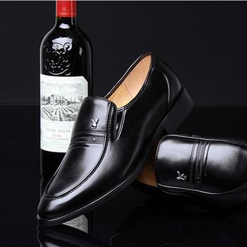 Giày da nam phong cách Ý đính logo - BS 609