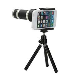 Lens tele X8 chụp hình đa năng tất cả điện thoại.