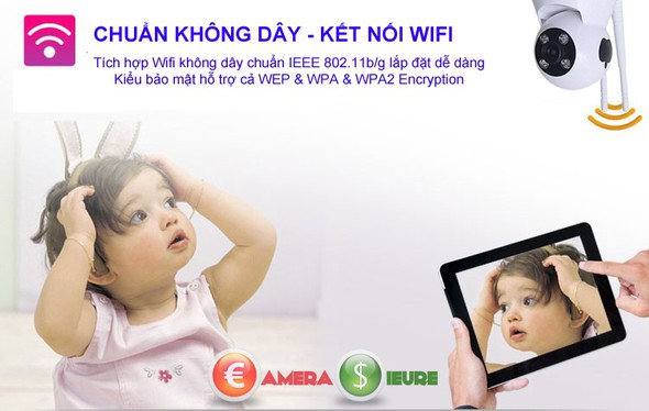 Camera Smart IP Wifi HDP-888IP 9