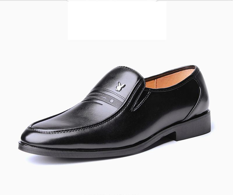 Giày da nam phong cách Ý đính logo - BS 609 9