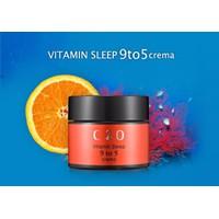 KEM DƯỠNG TRẮNG MỜ VẾT THÂM MỤN C20 VITAMIN SLEEP 9 TO 5 CREMA