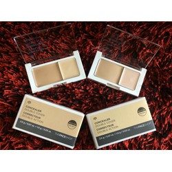 THEFACESHOP Che khuyết điểm 2 tone Concealer Double Cover.