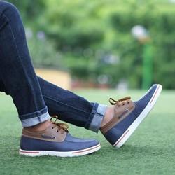 Giày da thời trang trẻ trung, năng động đế tăng chiều cao 5cm