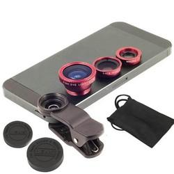 Bộ lens 3 in 1 chụp hình dành cho tất cả điện thoại