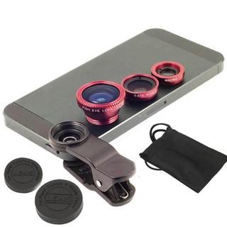 Bộ lens 3 in 1 chụp hình dành cho tất cả điện thoại - 3in1 thumbnail