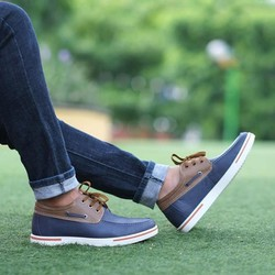 Giày da nam đế tăng chiều cao 5cm hoàn toàn bí mật