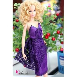 Váy cúp ngực quyến rũ cho barbie