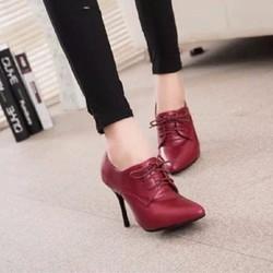 Giày cao gót cổ thấp, phong cách hiện đại - G019