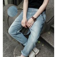 quần jeans yến sọc đứng Mã: ND0384